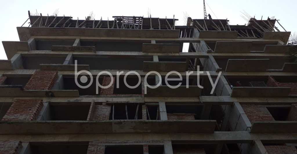 Front view - 4 Bed Apartment for Sale in 9 No. North Pahartali Ward, Chattogram - 1947777