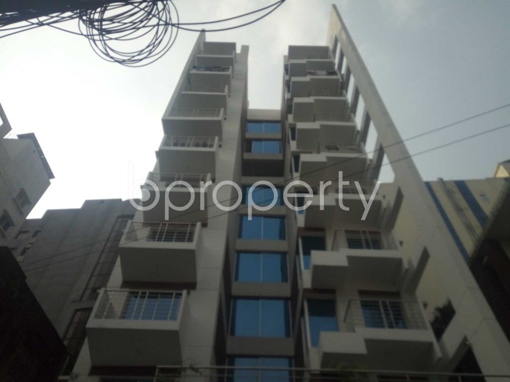 Front view - 3 Bed Apartment for Sale in Banani, Dhaka - 1947847