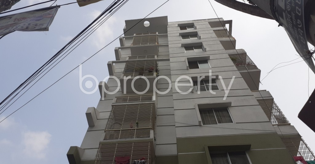 Outside view - 3 Bed Apartment for Sale in Dhanmondi, Dhaka - 1948036