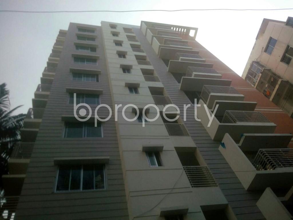 Front view - 3 Bed Apartment for Sale in 15 No. Bagmoniram Ward, Chattogram - 1948151