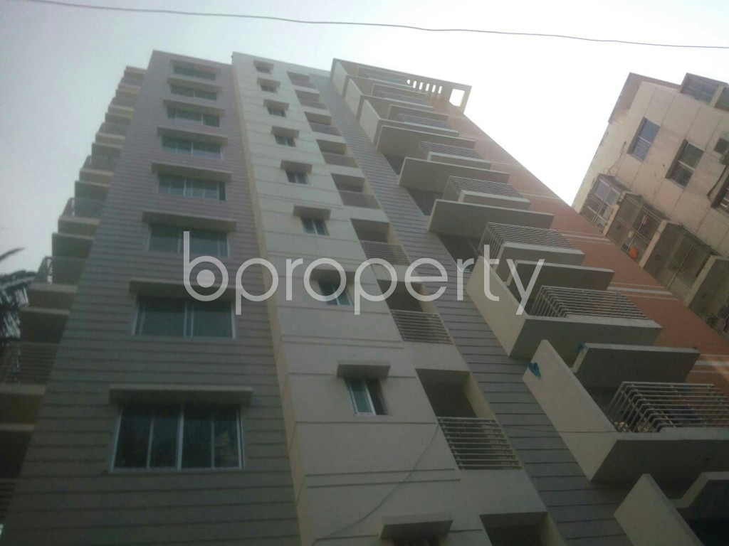 Front view - 3 Bed Apartment for Sale in 15 No. Bagmoniram Ward, Chattogram - 1948154
