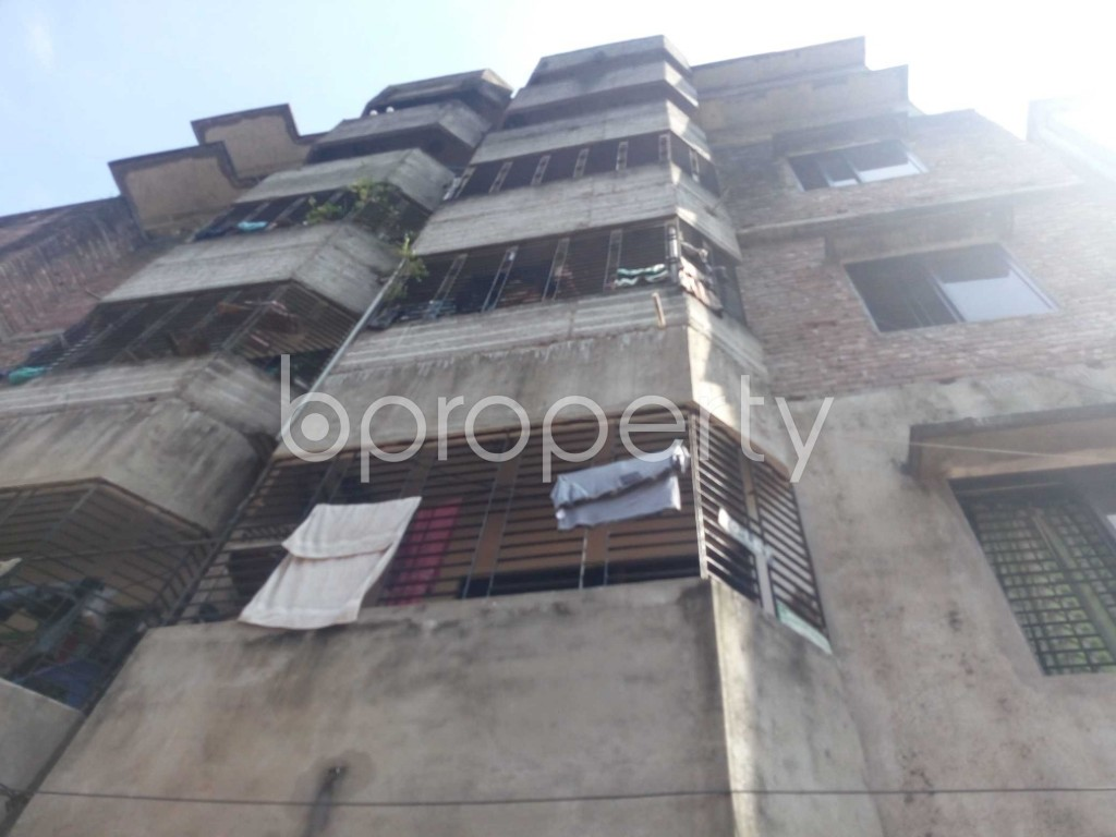 Front view - 2 Bed Apartment to Rent in Kalachandpur , Dhaka - 1948231