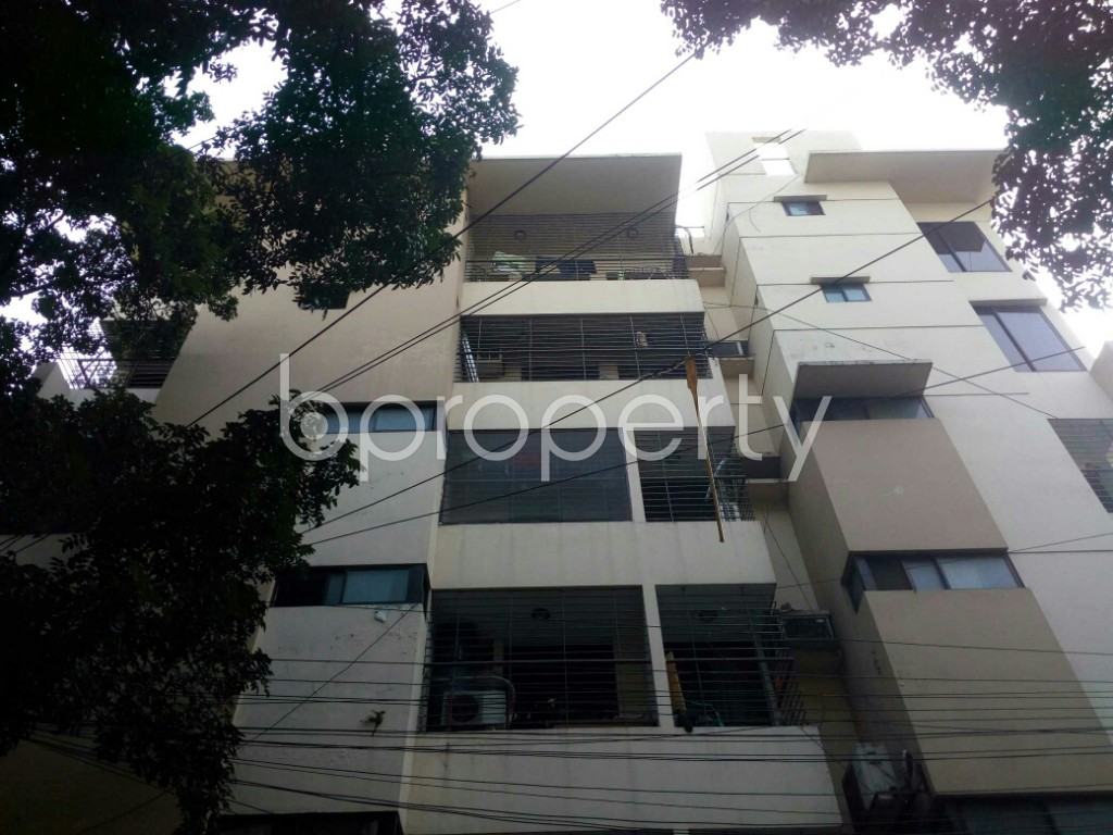 Front view - 3 Bed Apartment for Sale in Banani, Dhaka - 1948364