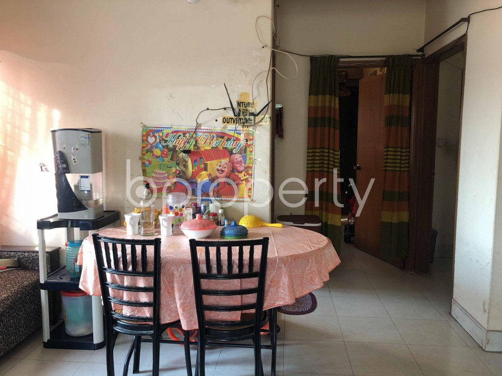 Dining area - 2 Bed Apartment for Sale in Turag, Dhaka - 1944783