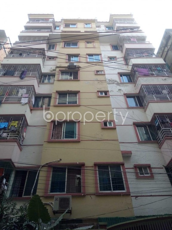 Front view - 3 Bed Apartment for Sale in Badda, Dhaka - 1948532