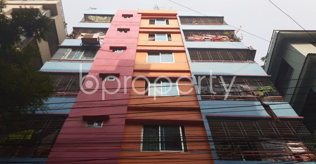 Front view - 4 Bed Apartment for Sale in Banasree, Dhaka - 1948778