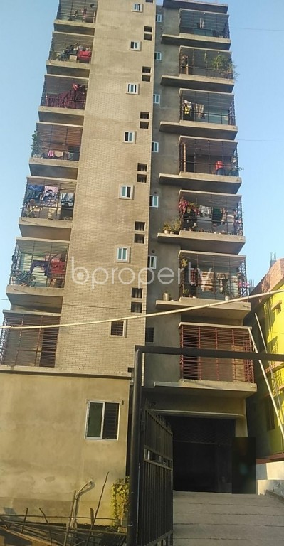 Outside view - 3 Bed Apartment for Sale in Halishahar, Chattogram - 1948777