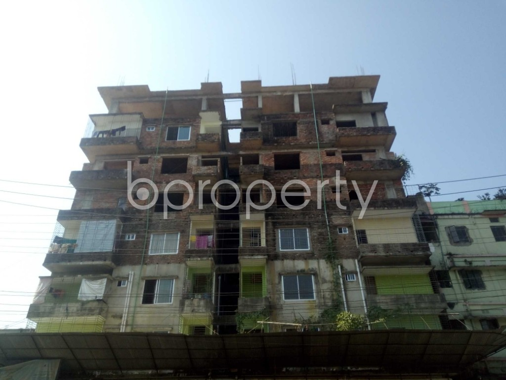 Front view - 3 Bed Apartment for Sale in Bakalia, Chattogram - 1948882