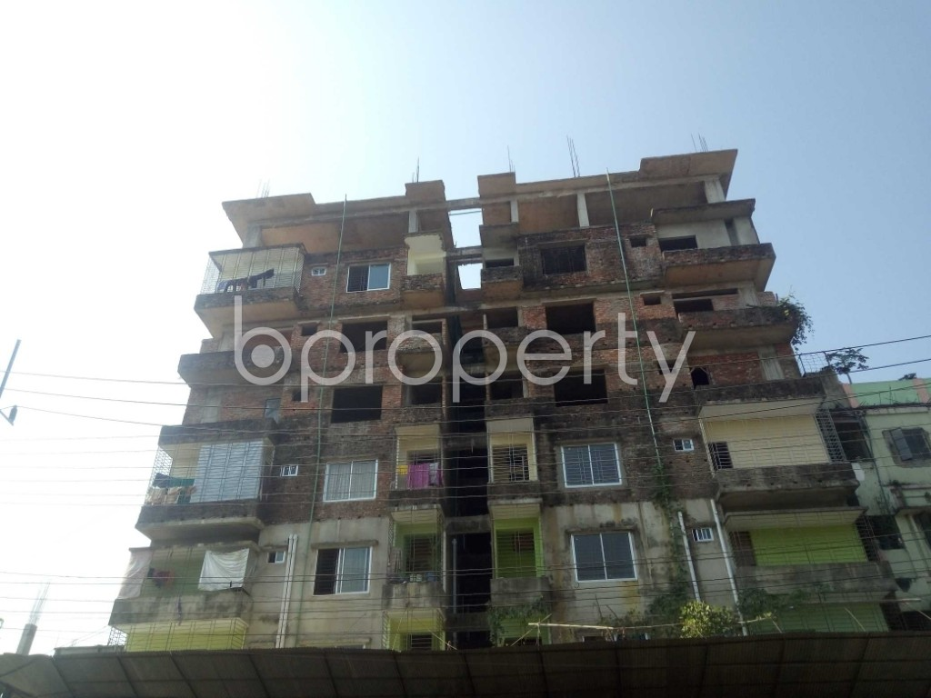 Front view - 3 Bed Apartment for Sale in Bakalia, Chattogram - 1948883