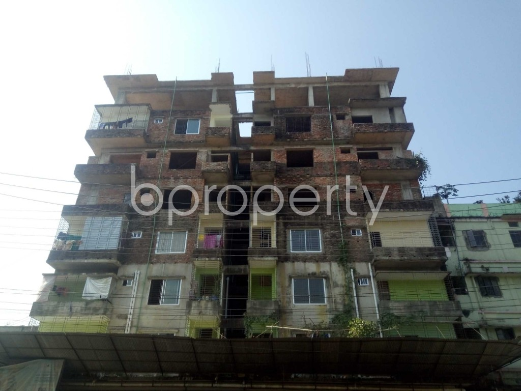 Front view - 3 Bed Apartment for Sale in Bakalia, Chattogram - 1948886