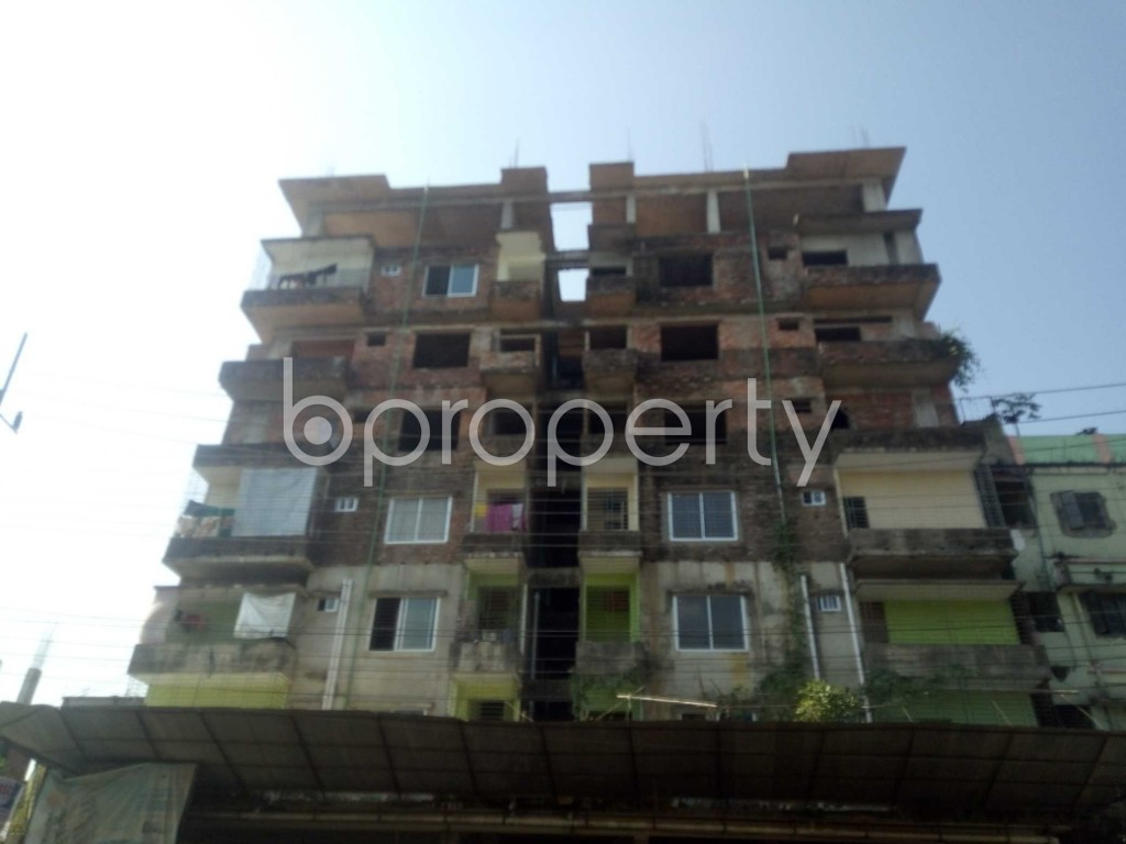 Front view - 3 Bed Apartment for Sale in Bakalia, Chattogram - 1948887