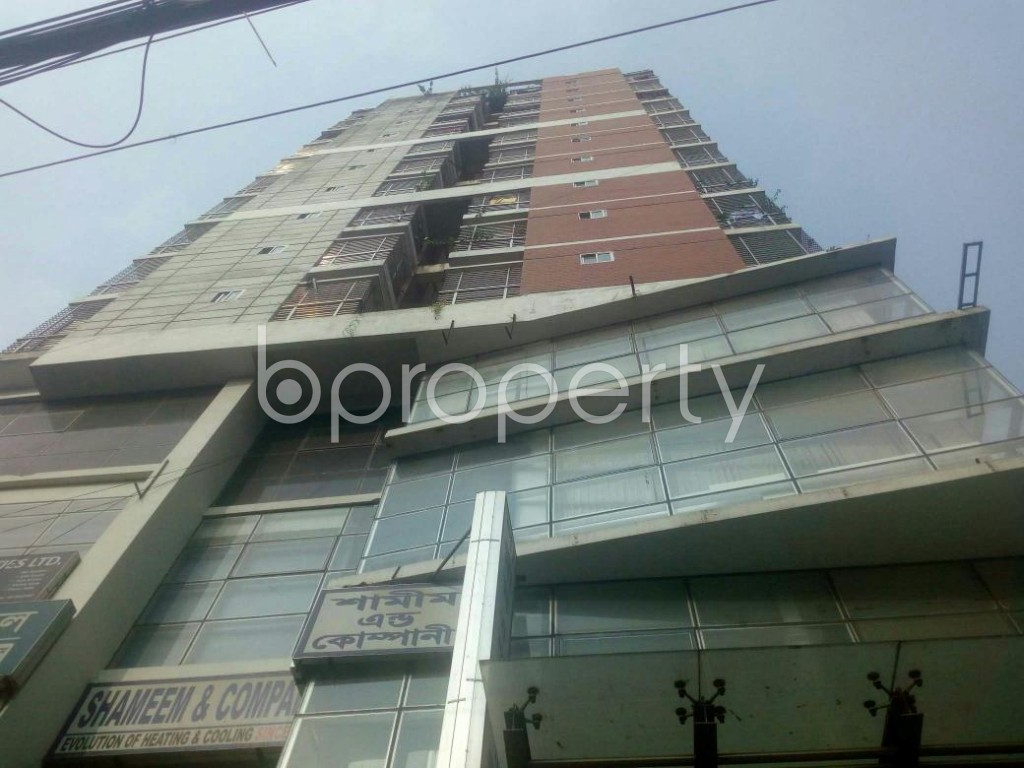Front view - 3 Bed Apartment for Sale in Malibagh, Dhaka - 1949110