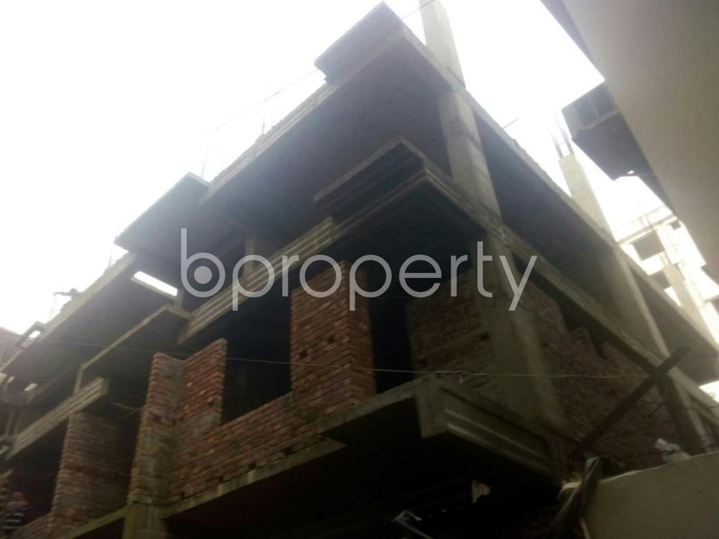 Outside view - 3 Bed Apartment for Sale in Rampura, Dhaka - 1949115