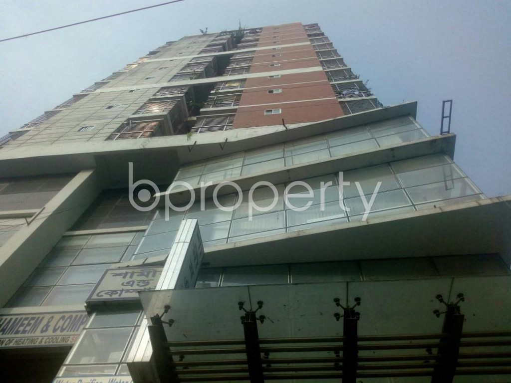 Front view - 3 Bed Apartment for Sale in Malibagh, Dhaka - 1949127