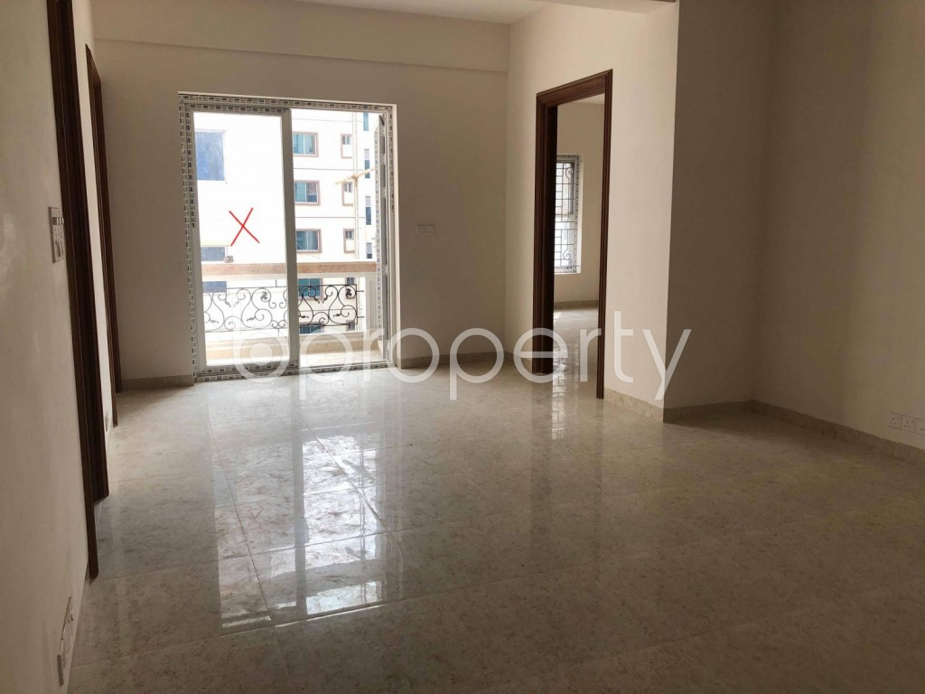 Dining area - 3 Bed Apartment to Rent in Bashundhara R-A, Dhaka - 1944338