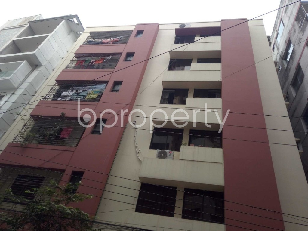Front view - 3 Bed Apartment for Sale in Niketan, Dhaka - 1949172