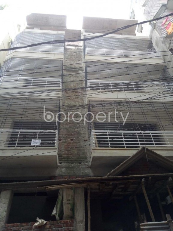 Front view - 2 Bed Apartment to Rent in Badda, Dhaka - 1949240