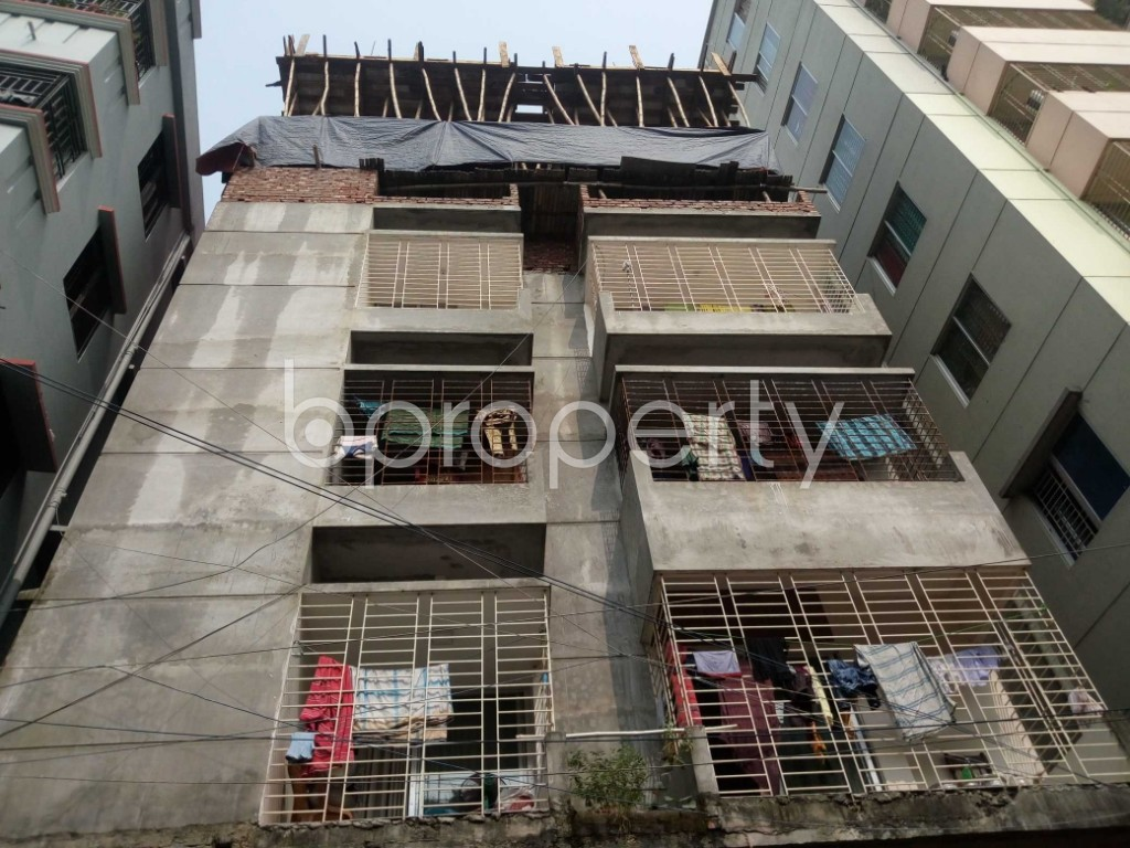 Front view - 3 Bed Apartment for Sale in Mirpur, Dhaka - 1949268