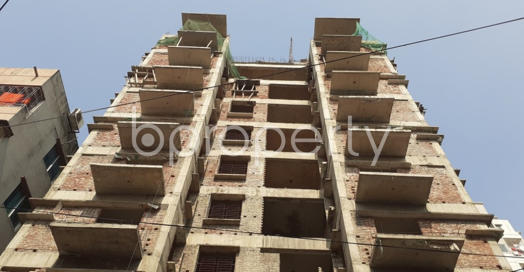 Front view - 3 Bed Apartment for Sale in Mohammadpur, Dhaka - 1949721