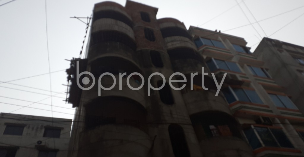 Outside view - 4 Bed Apartment to Rent in Lalmatia, Dhaka - 1949758