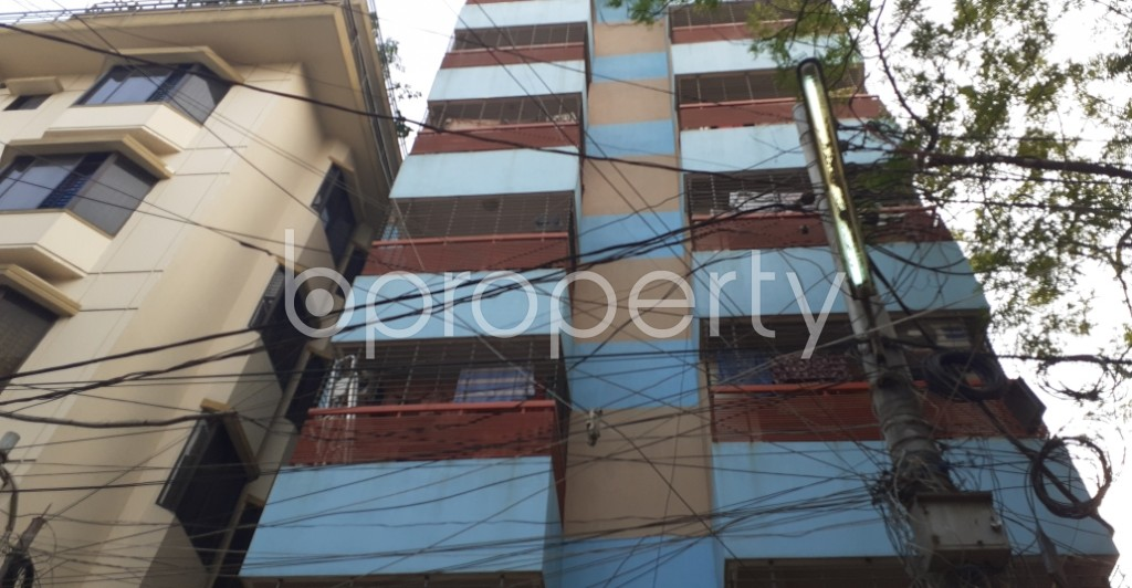Front view - 3 Bed Apartment for Sale in Mohammadpur, Dhaka - 1950053