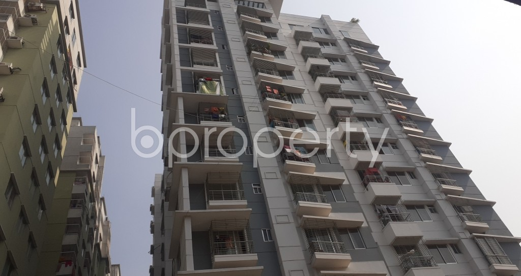 Front view - 3 Bed Apartment for Sale in Mohammadpur, Dhaka - 1950253