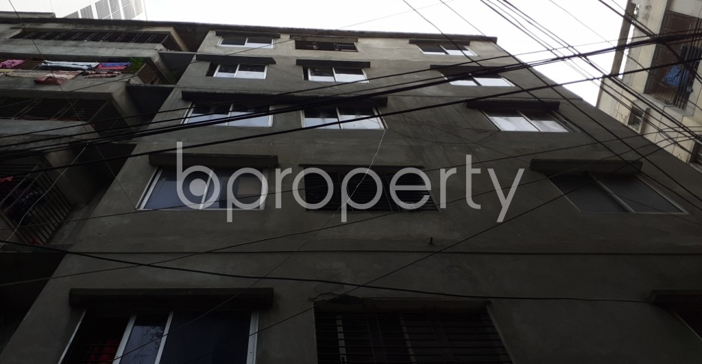Outside view - 2 Bed Apartment to Rent in Kathalbagan, Dhaka - 1950303