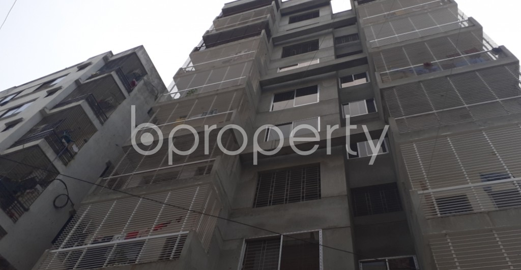 Front view - 3 Bed Apartment for Sale in Mohammadpur, Dhaka - 1950441