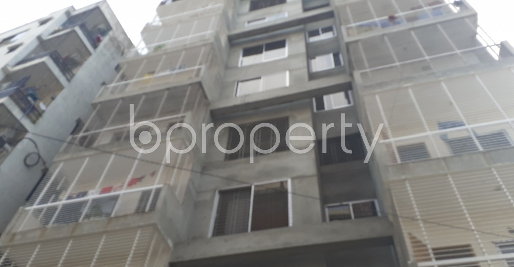 Front view - 3 Bed Apartment for Sale in Mohammadpur, Dhaka - 1950442