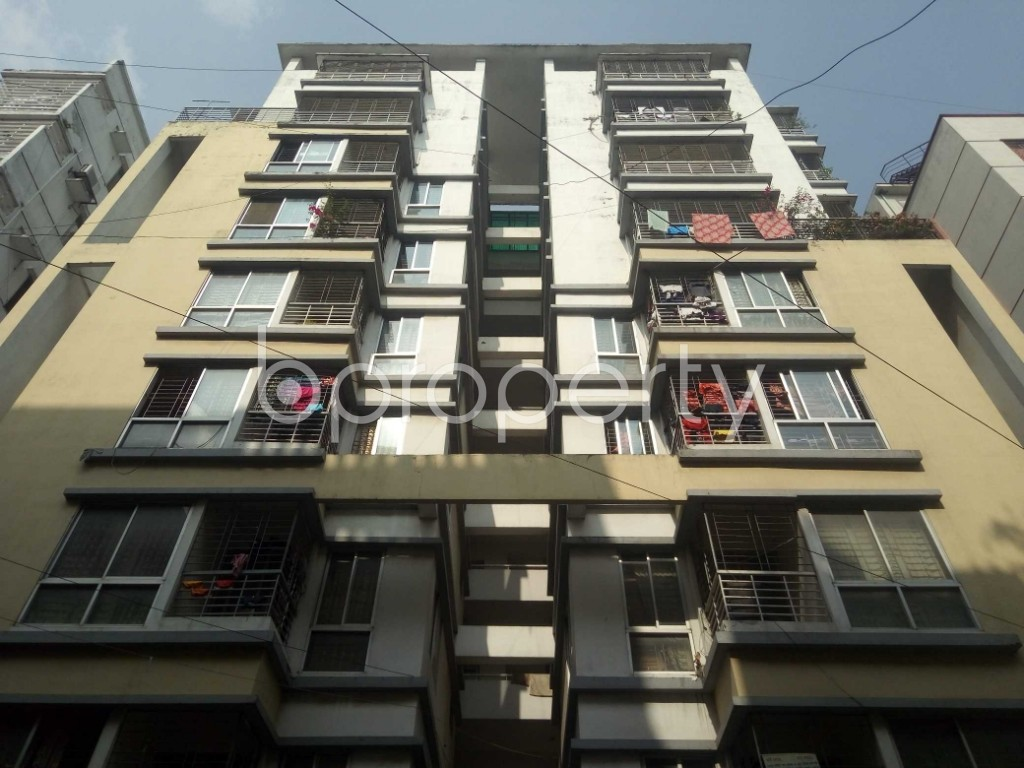 Front view - 3 Bed Apartment for Sale in Uttara, Dhaka - 1950452