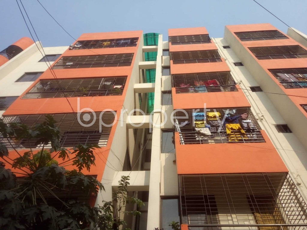 Front view - 3 Bed Apartment for Sale in Mirpur, Dhaka - 1950681