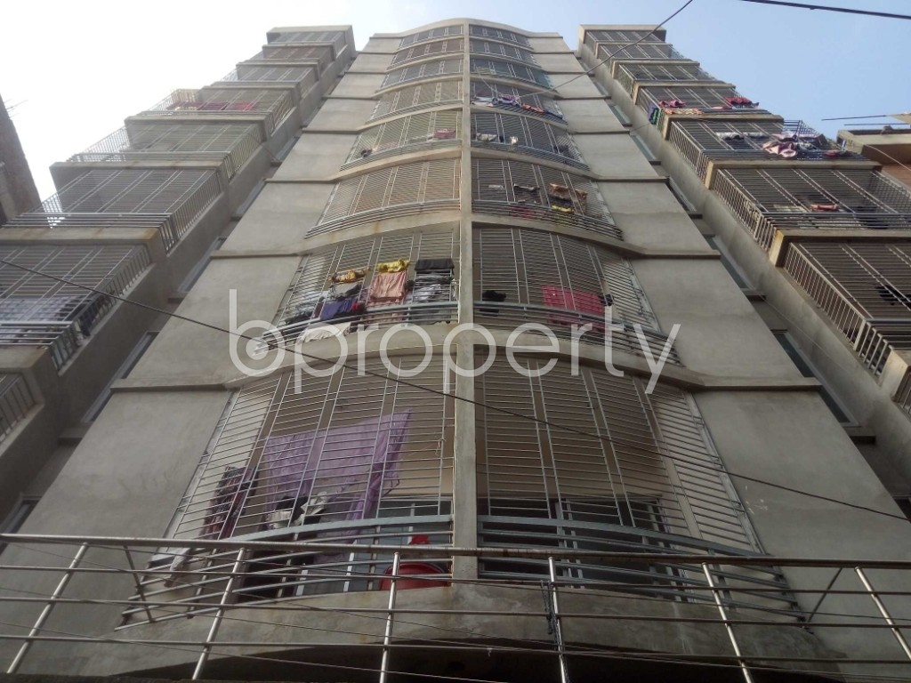Front view - 3 Bed Apartment for Sale in Mirpur, Dhaka - 1950836