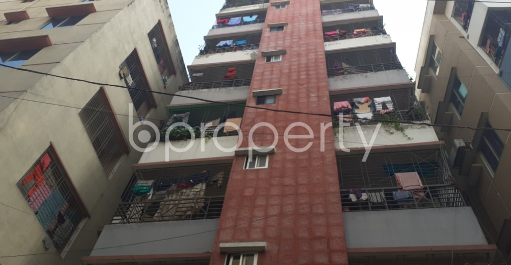 Front view - 2 Bed Apartment for Sale in Mohammadpur, Dhaka - 1950846