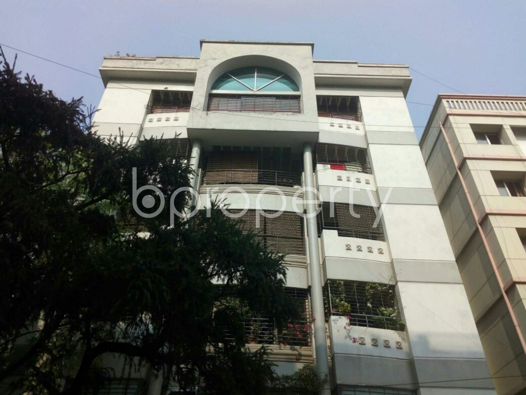 Front view - 4 Bed Apartment for Sale in Banani, Dhaka - 1951398
