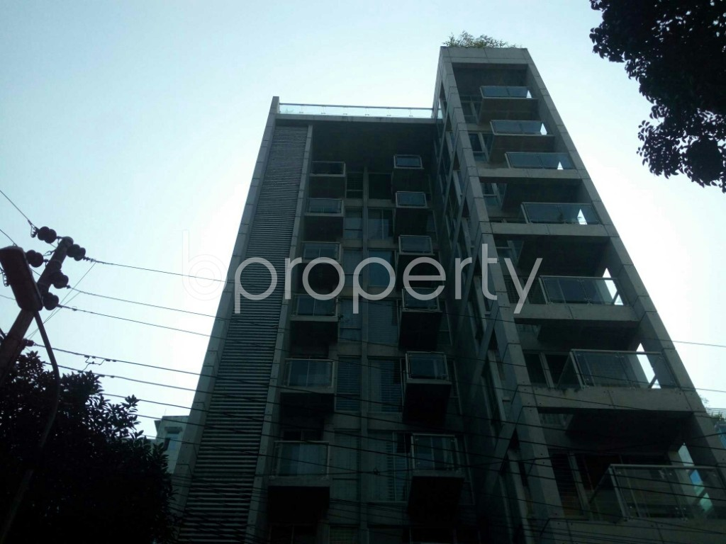 Front view - 3 Bed Apartment to Rent in Banani, Dhaka - 1951402