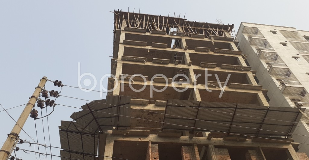 Front view - 3 Bed Apartment for Sale in Mohammadpur, Dhaka - 1951463
