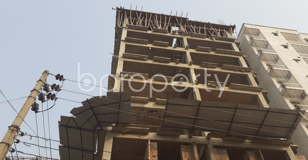 Front view - 3 Bed Apartment for Sale in Mohammadpur, Dhaka - 1951465