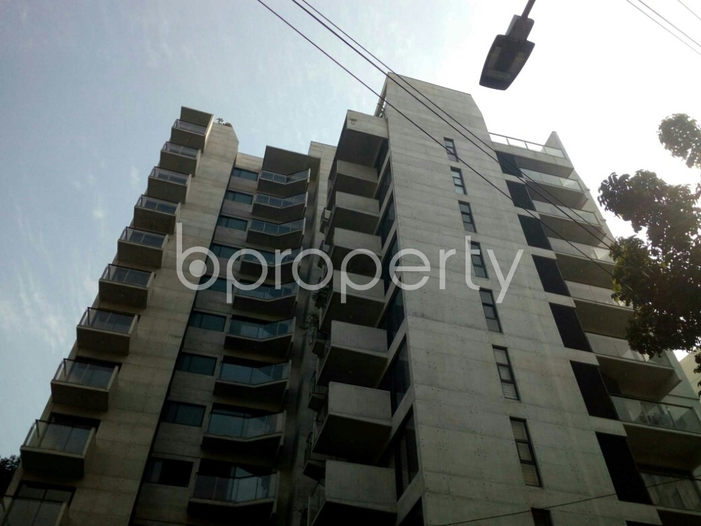 Front view - 3 Bed Apartment to Rent in Banani, Dhaka - 1952319