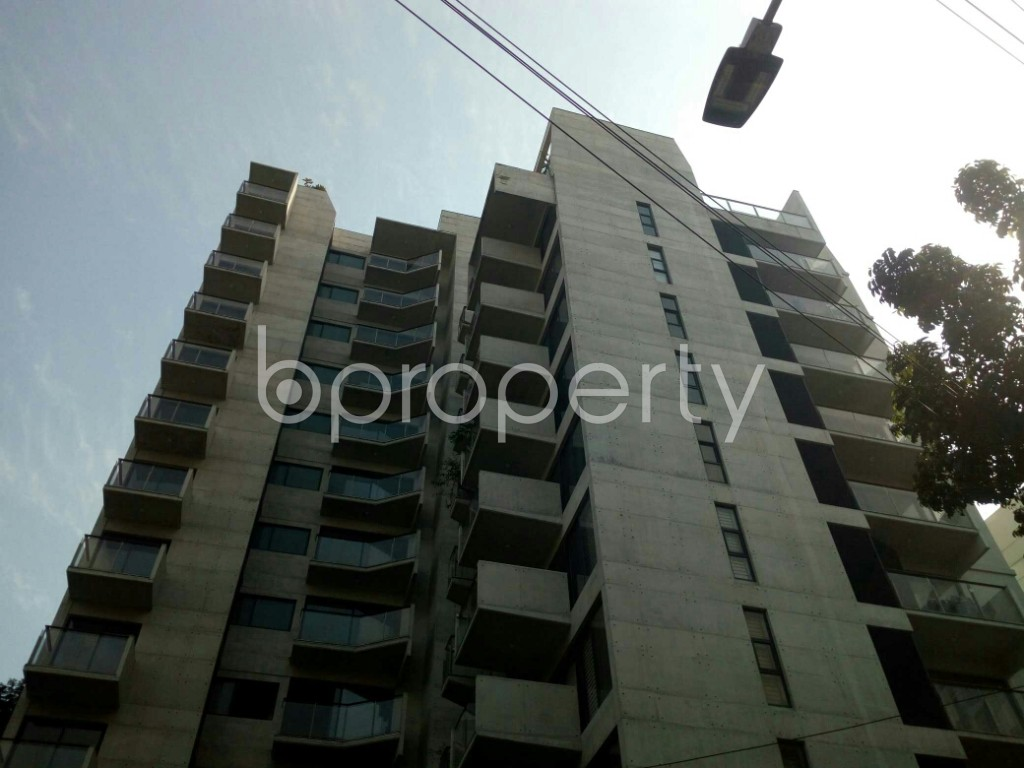 Front view - 3 Bed Apartment to Rent in Banani, Dhaka - 1952320