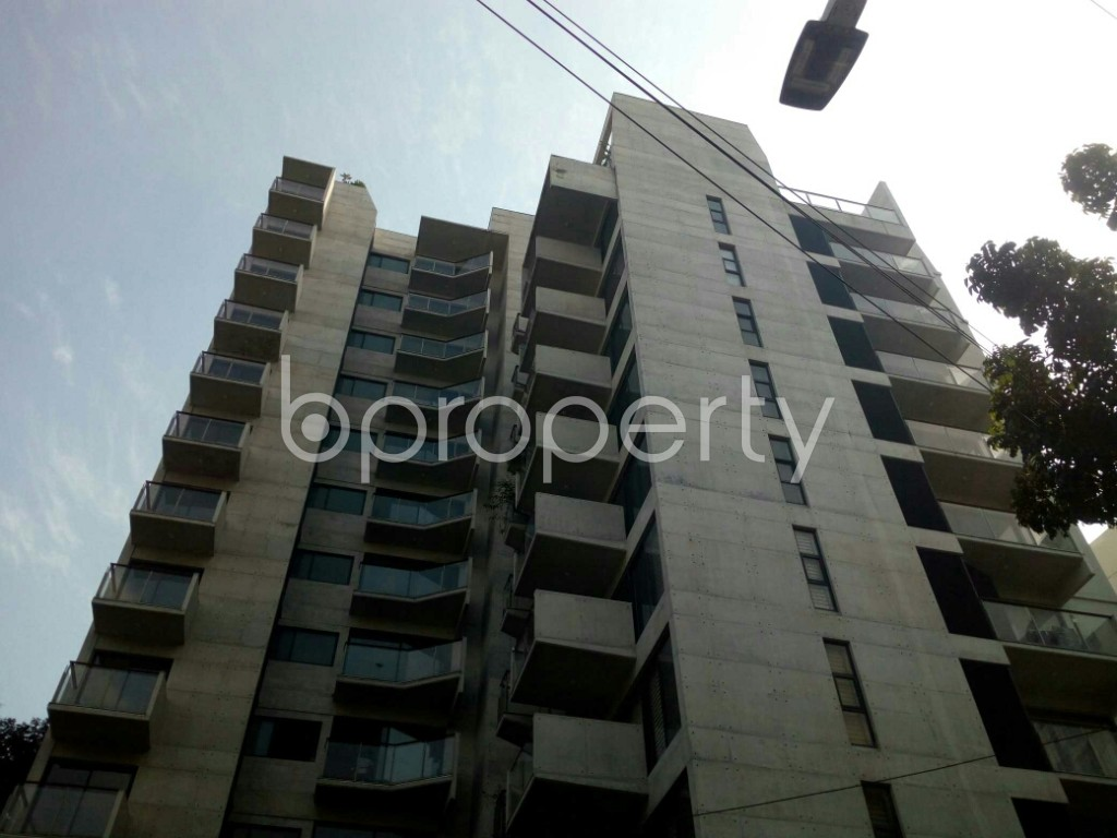 Front view - 3 Bed Apartment to Rent in Banani, Dhaka - 1952321