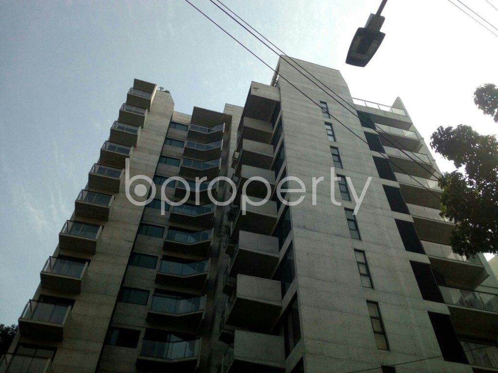 Front view - 3 Bed Apartment to Rent in Banani, Dhaka - 1952322