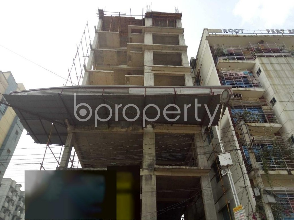 Front view - 3 Bed Apartment for Sale in Uttara, Dhaka - 1952338