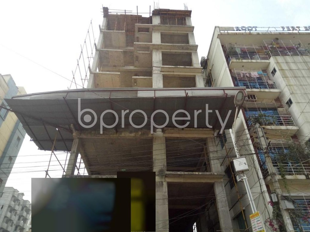 Front view - 3 Bed Apartment for Sale in Uttara, Dhaka - 1952339