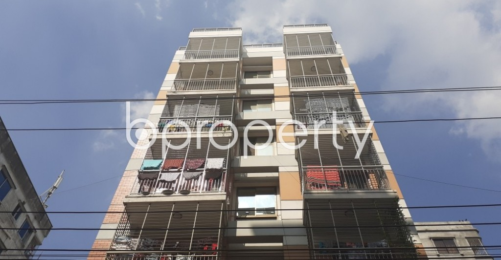 Front view - 3 Bed Apartment for Sale in Uttara, Dhaka - 1946466