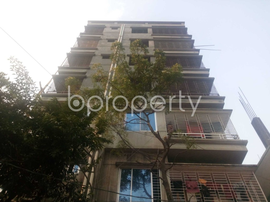 Front view - Office to Rent in Aftab Nagar, Dhaka - 1952429