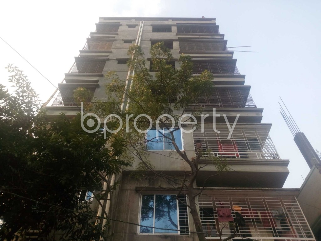 Front view - Office to Rent in Aftab Nagar, Dhaka - 1952430