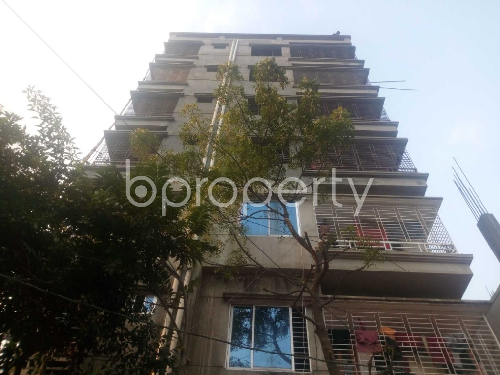 Front view - Office to Rent in Aftab Nagar, Dhaka - 1952433