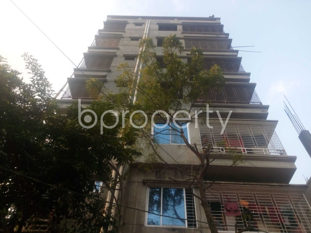 Front view - Office to Rent in Aftab Nagar, Dhaka - 1952434