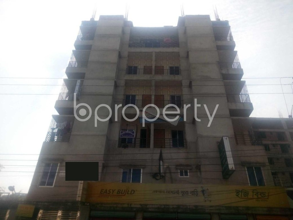 Front view - Office to Rent in Aftab Nagar, Dhaka - 1952455