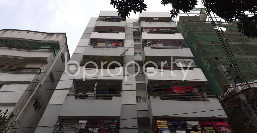 Outside view - 4 Bed Apartment for Sale in Lalmatia, Dhaka - 1952475